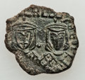 Ancients:Byzantine, Ancients: Leo IV - Michael II (AD 775-829). Lot of four (4) Æfolles.... (Total: 4 coins)