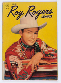 Roy Rogers Comics #1 (Dell, 1948) Condition: VG