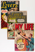 Golden Age (1938-1955):Romance, Comic Books - Assorted Golden Age Romance Comics Group (VariousPublishers, 1950s) Condition: Average GD+.... (Total: 13 ComicBooks)