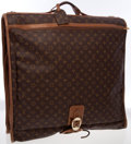 Luxury Accessories:Travel/Trunks, Louis Vuitton Classic Monogram Canvas Garment Bag. ...