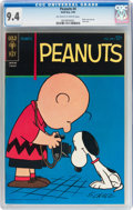 Silver Age (1956-1969):Cartoon Character, Peanuts #4 (Gold Key, 1964) CGC NM 9.4 Off-white to white pages....