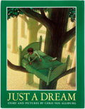Books:Children's Books, Chris Van Allsburg. SIGNED. Just a Dream. Boston: HoughtonMifflin, [1990]. Later printing. Signed by the author. ...