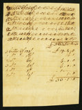 Colonial Notes:Mixed Colonies, Colonial Era Arithmetic. Very Fine.. ...