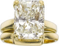 Estate Jewelry:Rings, Robert Whiteside Diamond, Gold Rings. ...
