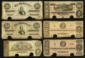 Confederate Notes:1864 Issues, Confederate Currency Potpourri Very Good or better.. ... (Total: 8 notes)