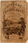 Books:Periodicals, [Periodical]. [School Reader]. Student and Schoolmate andForrester's Boys & Girls Magazine, Vol. V, No. 5, March,1858....