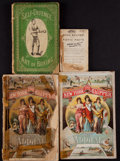 Boxing Collectibles:Memorabilia, 19th Century Boxing and Misc. Sports Paperback Books Lot of 4....