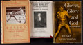 Boxing Collectibles:Autographs, Vintage Boxing Signed Hardcover Books Lot of 3....