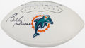 Football Collectibles:Balls, Bob Griese Signed Football....