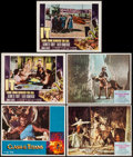 "Movie Posters:Fantasy, The Golden Voyage of Sinbad & Others Lot (Columbia, 1973). Autographed Lobby Card & Lobby Cards (4) (11"" X 14""). Fantasy.. ... (Total: 5 Items)"