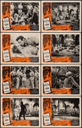 """Movie Posters:Science Fiction, Fire Maidens of Outer Space (Topaz, 1956). Lobby Card Set of 8 (11""""X 14""""). Science Fiction.. ... (Total: 8 Items)"""