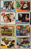"""Movie Posters:Science Fiction, Rodan! The Flying Monster & Others Lot (Toho/ DCA, 1957). LobbyCards (8) (11"""" X 14""""). Science Fiction.. ... (Total: 8 Items)"""