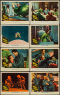 """Movie Posters:Science Fiction, Satellite in the Sky (Warner Brothers, 1956). Lobby Card Set of 8 (11"""" X 14""""). Science Fiction.. ... (Total: 8 Items)"""