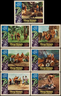 """Movie Posters:Fantasy, Viking Women and the Sea Serpent (American International, 1957).Lobby Cards (7) (11"""" X 14""""). Fantasy.. ... (Total: 7 Items)"""