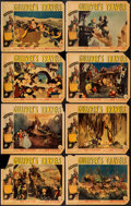 "Movie Posters:Animation, Gulliver's Travels (Paramount, 1939). Lobby Card Set of 8 (11"" X14""). Animation.. ... (Total: 8 Items)"