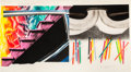 Prints:Contemporary, JAMES ROSENQUIST (American, b. 1933). Off the ContinentalDivide, 1973-74. Lithograph in colors. 42 x 79 inches (106.7x...