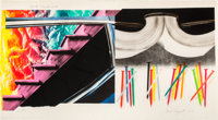 JAMES ROSENQUIST (American, b. 1933) Off the Continental Divide, 1973-74 Lithograph in colors 42