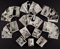 Non-Sport Cards:Sets, 1930's-1940's British Real Photo Pin-Up Cards Complete or Near SetsCollection (11). ...