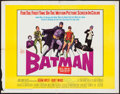"Movie Posters:Action, Batman (20th Century Fox, 1966). Half Sheet (22"" X 28""). Action....."