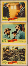 """Movie Posters:War, Paths of Glory (United Artists, 1958). Lobby Cards (3) (11"""" X 14"""").War.. ... (Total: 3 Items)"""