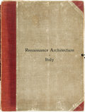 Books:Art & Architecture, [Architecture]. Italian Renaissance. Sixty Measured Drawings with Details from the Thirteenth to the Sixteenth Century. ...