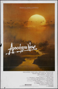 """Apocalypse Now (United Artists, 1979). Australian One Sheet (27"""" X 40""""). War. Directed by Francis Ford Coppola..."""