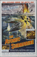 """Movie Posters:Science Fiction, The Atomic Submarine (Allied Artists, 1959). One Sheet (27"""" X 41"""").Science Fiction. Directed by Spencer Gordon Bennet. Star..."""