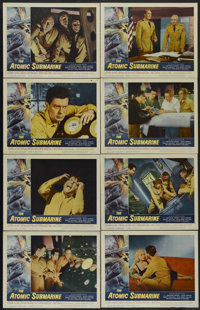 "The Atomic Submarine (Allied Artists, 1959). Lobby Card Set of 8 (11"" X 14""). Science Fiction. Directed by Spe..."