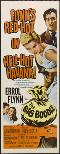 "Movie Posters:Crime, The Big Boodle (United Artists, 1957). Insert (14"" X 36"").Adventure. Directed by Richard Wilson. Starring Errol Flynn,Pedr..."