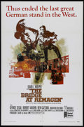 """Movie Posters:War, The Bridge At Remagen (United Artists, 1969). One Sheet (27"""" X41""""). War. Directed by John Guillermin. Starring George Segal..."""