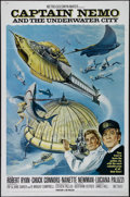 "Movie Posters:Adventure, Captain Nemo and the Underwater City (MGM, 1969). One Sheet (27"" X41""). Adventure. Directed by James Hill. Starring Robert ..."