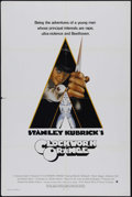 """Movie Posters:Drama, A Clockwork Orange (Warner Brothers, 1971). One Sheet (27"""" X 41""""). Crime. Directed by Stanley Kubrick. Starring Malcolm McDo..."""