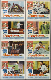"""The Disorderly Orderly (Paramount, 1965). Lobby Card Set of 8 (11"""" X 14""""). Comedy. Directed by Frank Tashlin..."""