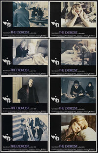 "The Exorcist (Warner Brothers, 1973). Lobby Card Set of 8 (11"" X 14""). Horror. Directed by William Friedkin. S..."