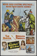 "Movie Posters:Adventure, The Golden Arrow (MGM, 1963). One Sheet (27"" X 41""). FantasyAdventure. Directed by Antonio Margheriti. Starring Tab Hunter,..."