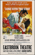 "Movie Posters:Academy Award Winner, Gone With the Wind (MGM, R-1974). Window Card (14"" X 22""). Drama. Directed by Victor Fleming, Sam Wood and George Cukor. Sta..."