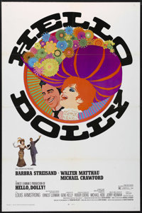 "Hello, Dolly! (20th Century Fox, 1969). One Sheet (27"" X 41""). Musical Comedy. Directed by Gene Kelly. Starrin..."