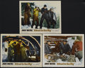 """Movie Posters:Adventure, Island in the Sky (Warner Brothers, 1953). Lobby Cards (3) (11"""" X14""""). Adventure. Directed by William Wellman. Starring Joh...(Total: 3 Items)"""