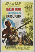 "Movie Posters:Adventure, Kim (MGM, 1950). One Sheet (27"" X 41""). Adventure. Directed byVictor Saville. Starring Errol Flynn, Dean Stockwell, Paul Lu..."