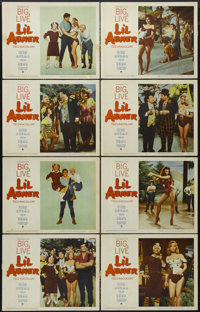 """Li'l Abner (Paramount, 1959). Lobby Card Set of 8 (11"""" X 14""""). Musical. Directed by Melvin Frank. Starring Pet..."""