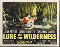 "Movie Posters:Adventure, Lure of the Wilderness (20th Century Fox, 1952). Half Sheet (22"" X28""). Thriller. Directed by Jean Negulesco. Starring Jean..."