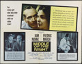 "Movie Posters:Drama, Middle of the NIght (Columbia, R-1959). Half Sheet (22"" X 28"").Style A. Drama. Directed by Delbert Mann. Starring Fredric M..."