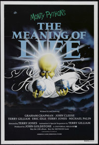"""Monty Python's The Meaning of Life (Universal, 1983). Australian One Sheet (27"""" X 40""""). Comedy. Directed by Te..."""