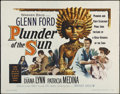 "Movie Posters:Adventure, Plunder of the Sun (Warner Brothers, 1953). Half Sheet (22"" X 28"").Adventure. Directed by John Farrow. Starring Glenn Ford,..."