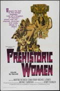 "Movie Posters:Adventure, Prehistoric Women (Warner Brothers, 1967). One Sheet (27"" X 41"").Adventure. Directed by Michael Carreras. Starring Martine ..."