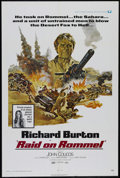 "Movie Posters:War, Raid on Rommel (Universal, 1971). One Sheet (27"" X 41""). War.Directed by Henry Hathaway. Starring Richard Burton, John Coli..."
