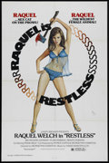"Movie Posters:Drama, Restless (Joseph Brenner Associates, 1978). One Sheet (27"" X 41""). Drama. Directed by George Pan Cosmatos. Starring Raquel W..."