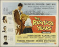 "Movie Posters:Drama, The Restless Years (Universal International, 1958). Half Sheet (22"" X 28""). Drama. Directed by Helmut Kautner. Starring John..."
