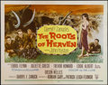 "Movie Posters:Adventure, The Roots of Heaven (Twentieth Century Fox, 1958). Half Sheet (22""X 28""). Adventure. Directed by John Huston. Starring Erro..."