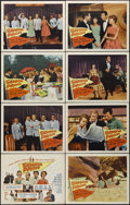 """Movie Posters:Musical, Senior Prom (Columbia, 1958). Lobby Card Set of 8 (11"""" X 14""""). Musical. Directed by David Lowell Rich. Starring Jill Corey, ... (Total: 8 Items)"""